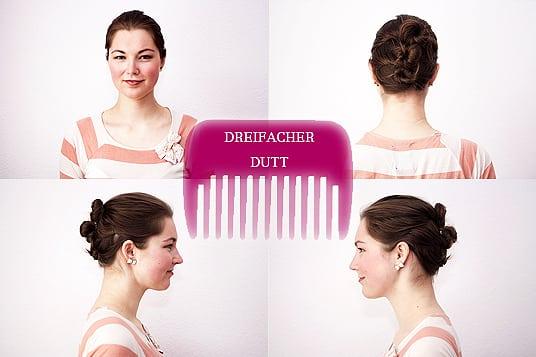 Hochsteckfrisur für mittellange Haare