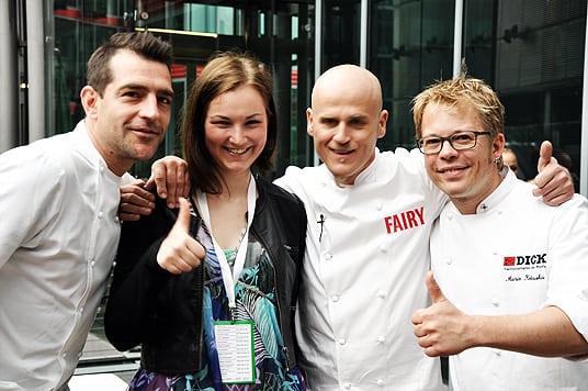 Fairy Berlin Küchenchefs Ralf Zacherl Martin Baudrexel und Mario Kotaska