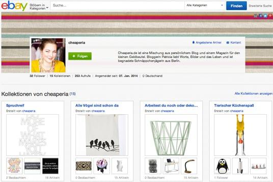 eBay Kollektionen cheaperia