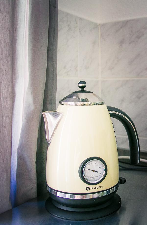 50er Jahre Retro Wasserkocher