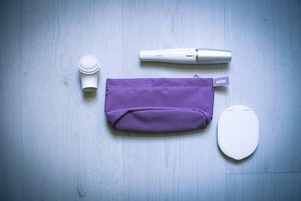 Braun Face 810 Gesichtsreinigungsbürste und -epilierer