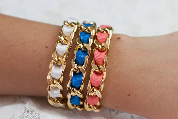 DIY Armband Gold