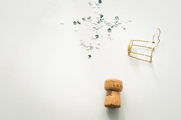 DIY Konfetti Pringles Silvester