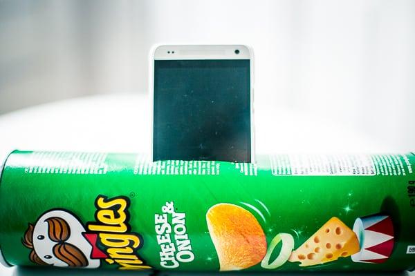 Pringles Lautsprecher Verstärker