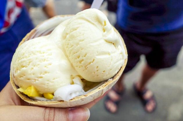 Kokoseiscreme Thailand