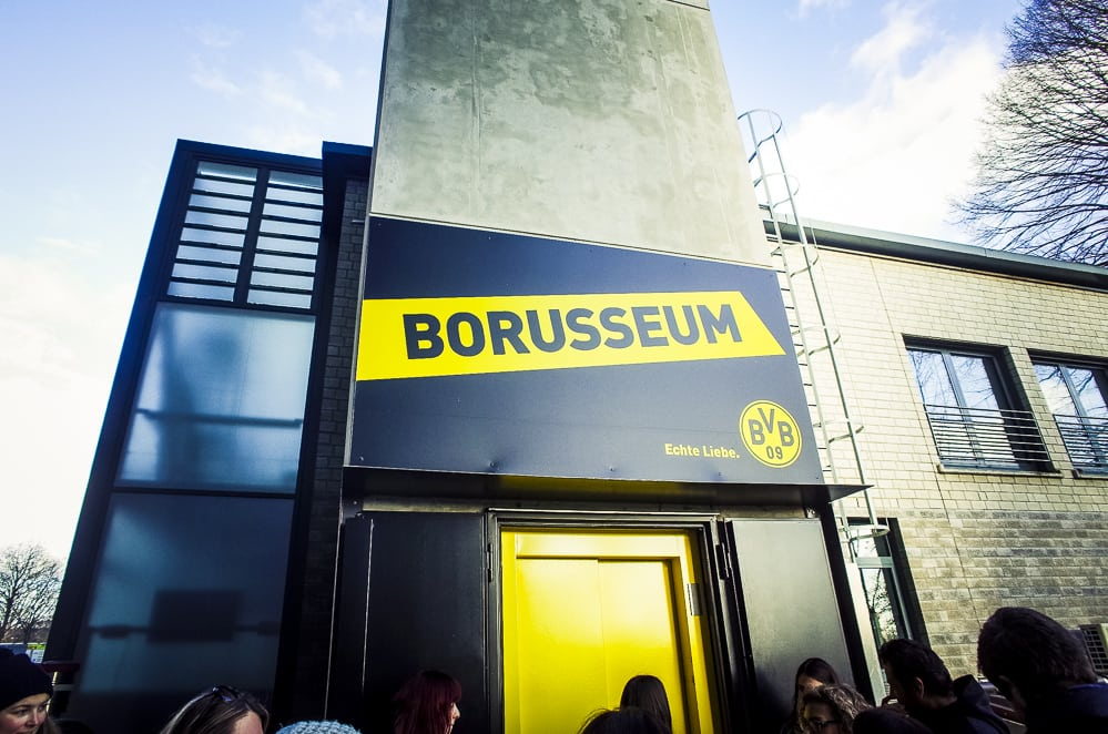 Private BVB Stadiontour im Signal Iduna Park in Dortmund Borusseum