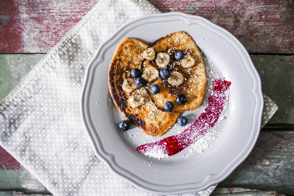 Vegane Vanilla Pancakes von La Veganista