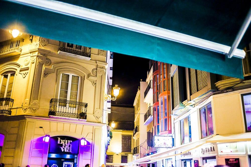 Nacht in Malaga