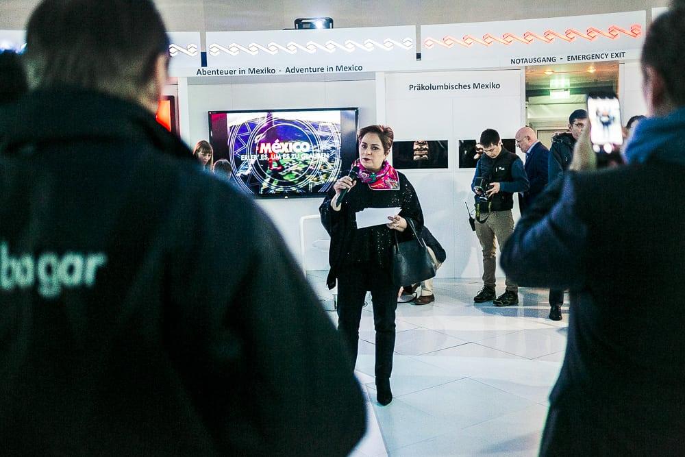 Entdecke Mexiko Berlin Hauptbahnhof