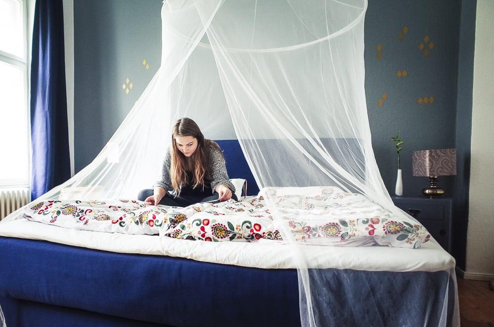 Boxspringbett ikea  Unser Boxspringbett von IKEA und das Schlafzimmer-Makeover* - The ...