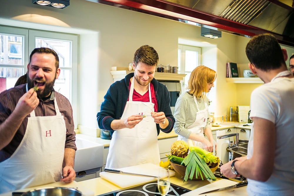 Lösch für Freunde Kochkurs Martin Opitz