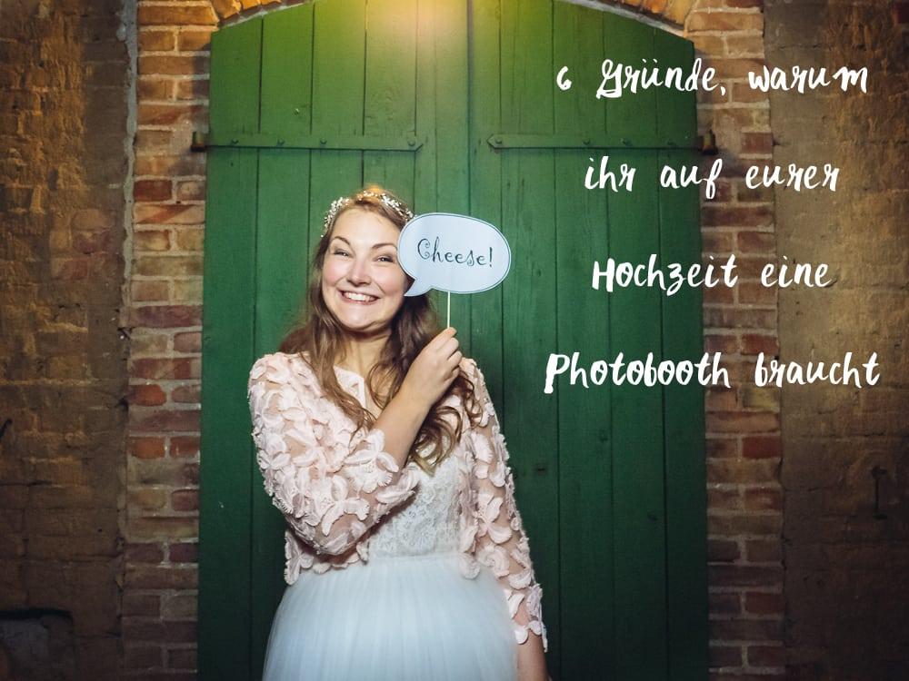 Braucht man eine Photobooth auf der Hochzeit