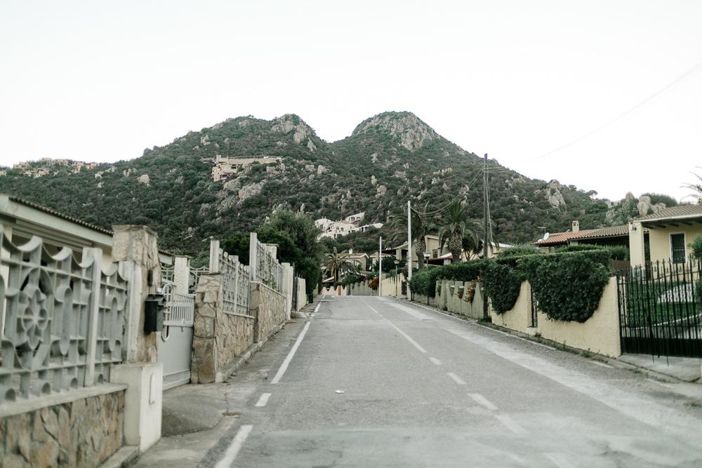 Sardinien Straße
