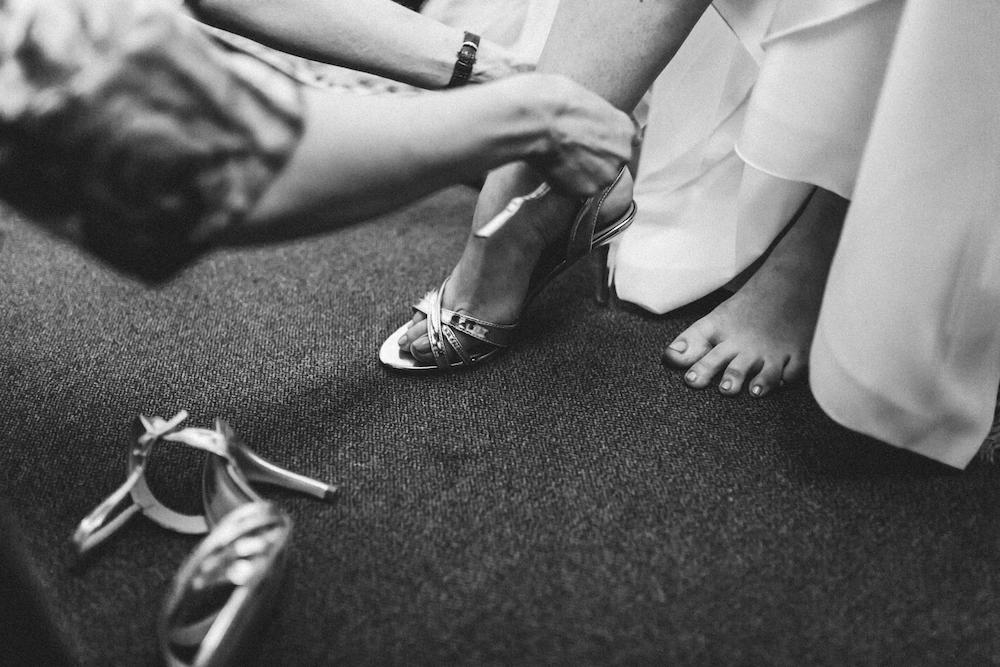 Schuhe Braut