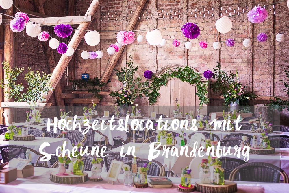 Hochzeitslocations mit Scheune in Brandenburg