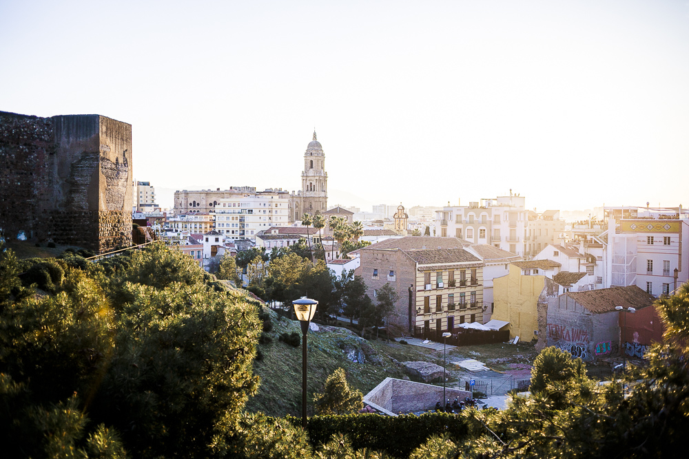 Málaga Sonnenuntergang