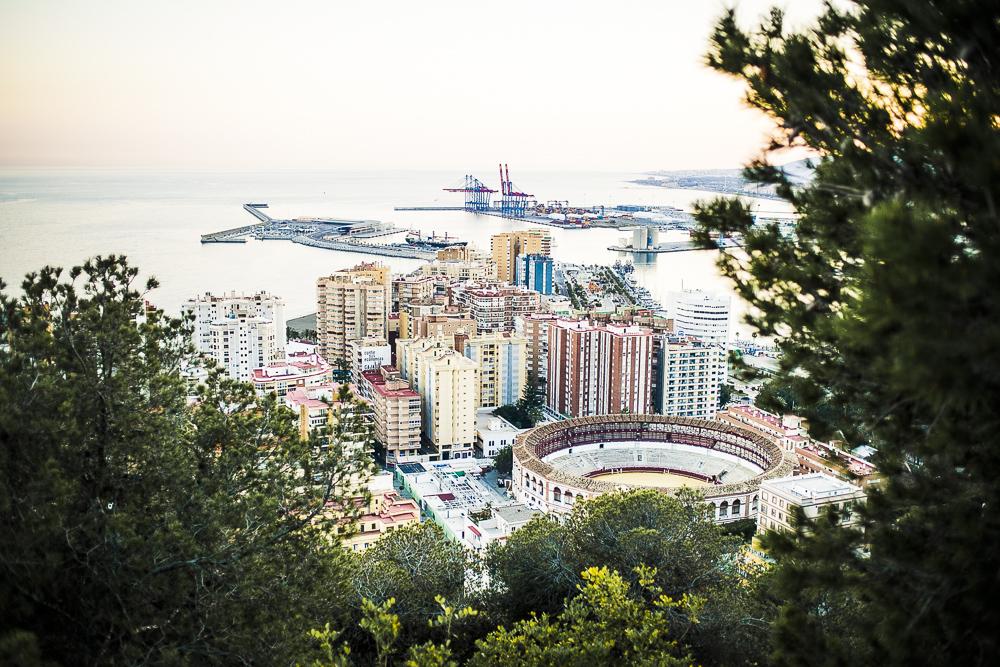Málaga Aussicht