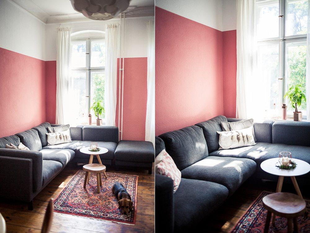 wohnzimmer rosa weiß:Wohnzimmer rosa