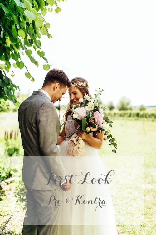 First Look Hochzeit Pro und Kontra