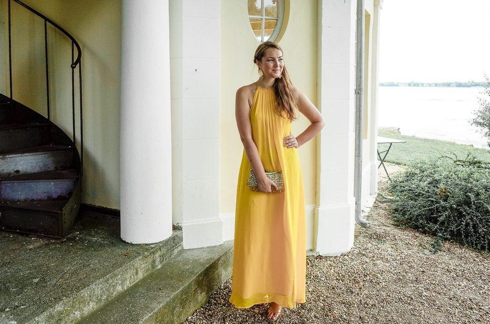 Das gelbes kleid ist schon