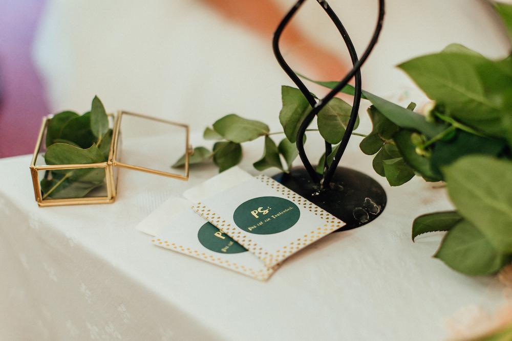 Taschentücher DIY Hochzeit