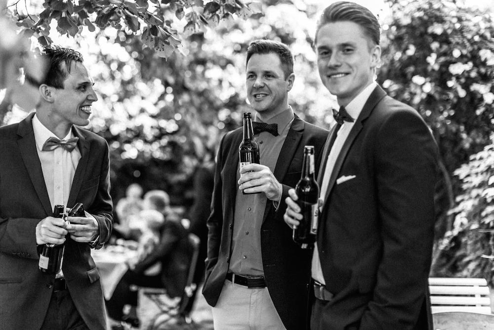 Bier auf Hochzeit