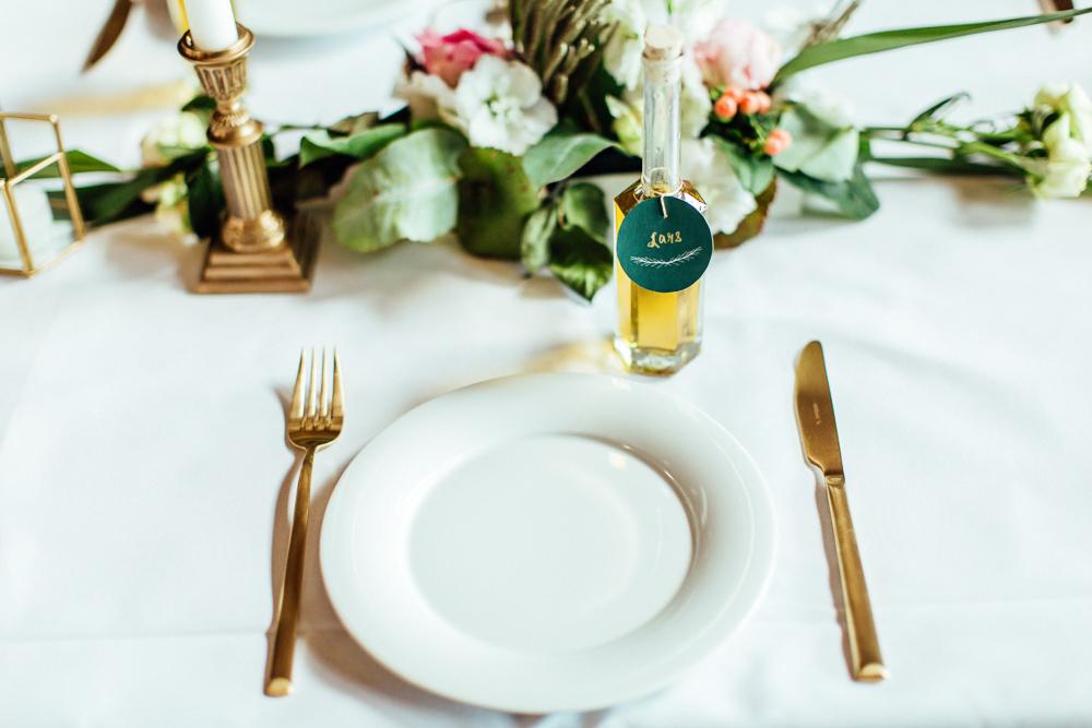 Goldenes Besteck Hochzeit