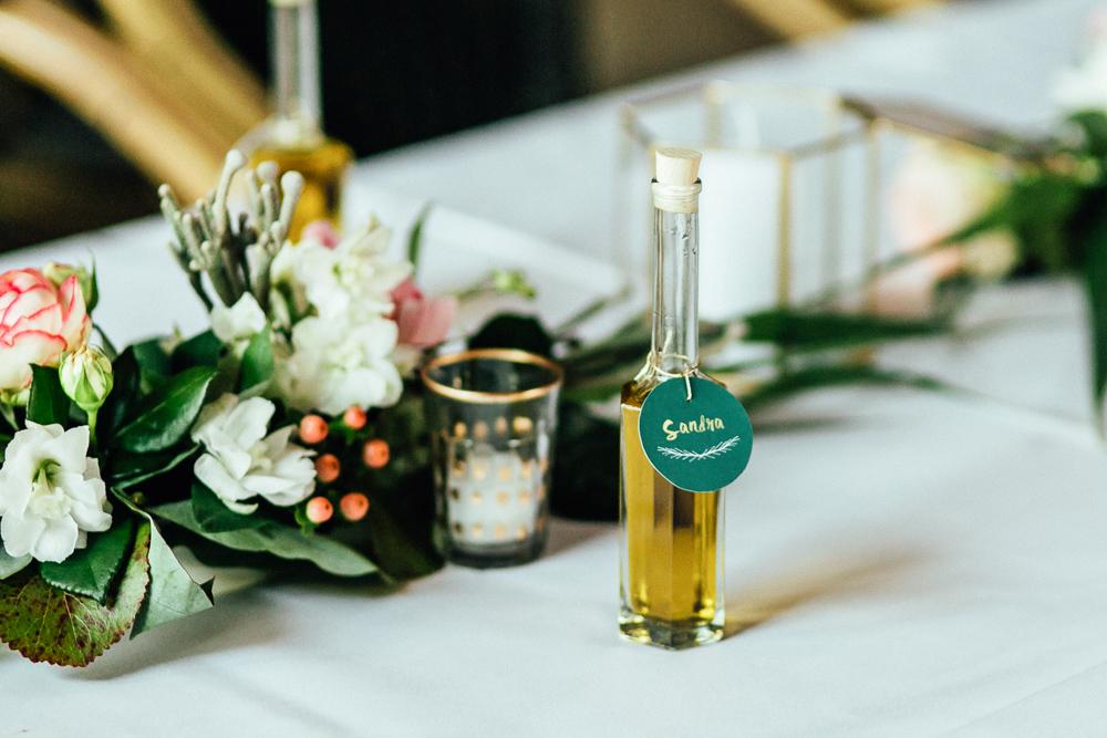 Gastgeschenk Hochzeit Olivenöl