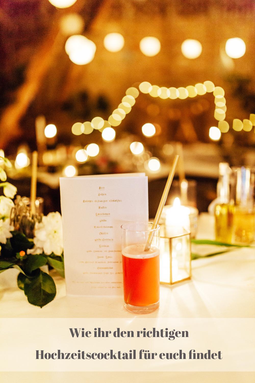 Hochzeitscocktails Happy Day Cosmopolitan