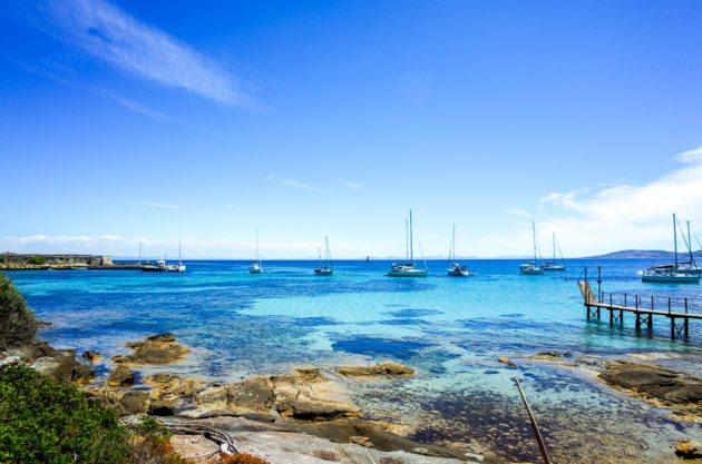 Bootstour im Nationalpark Asinara