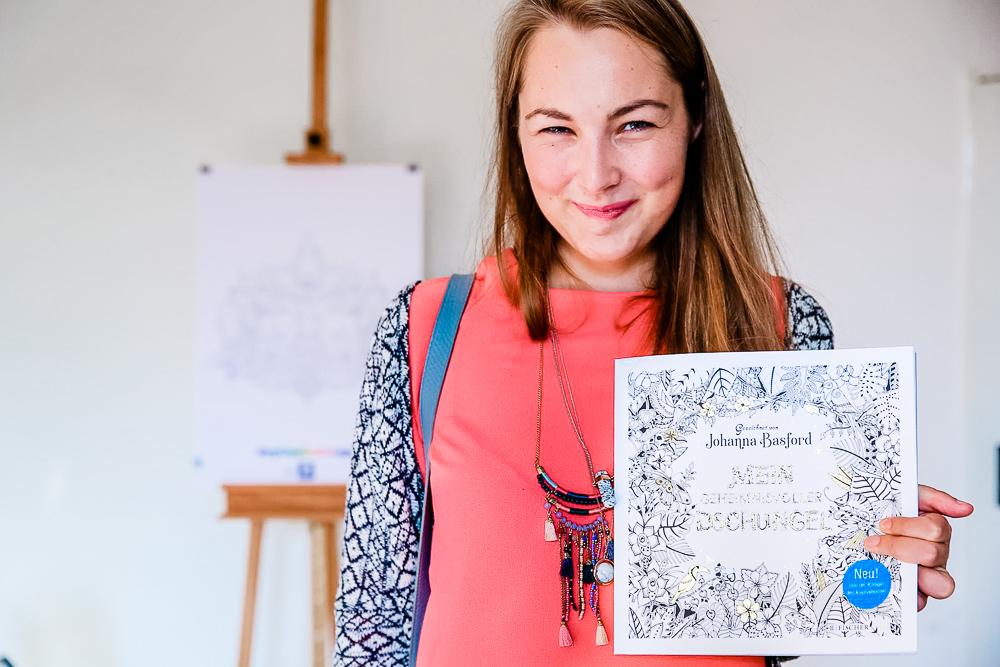 Bloggerevent Staedtler Johanna Basford