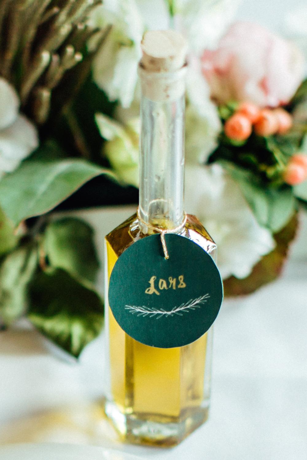 DIY Gastgeschenk Olivenöl