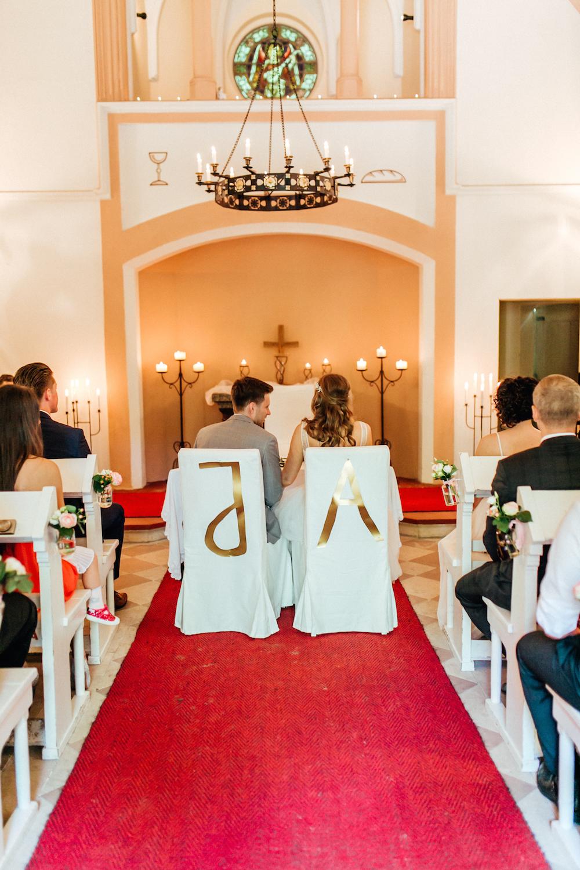 Buchstaben Trauung DIY Hochzeitsdeko