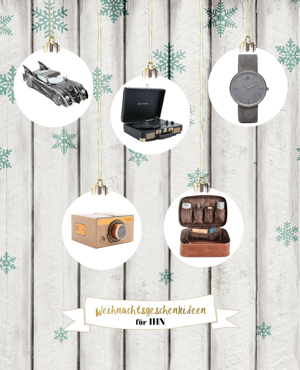 Weihnachtsgeschenkideen für Ihn