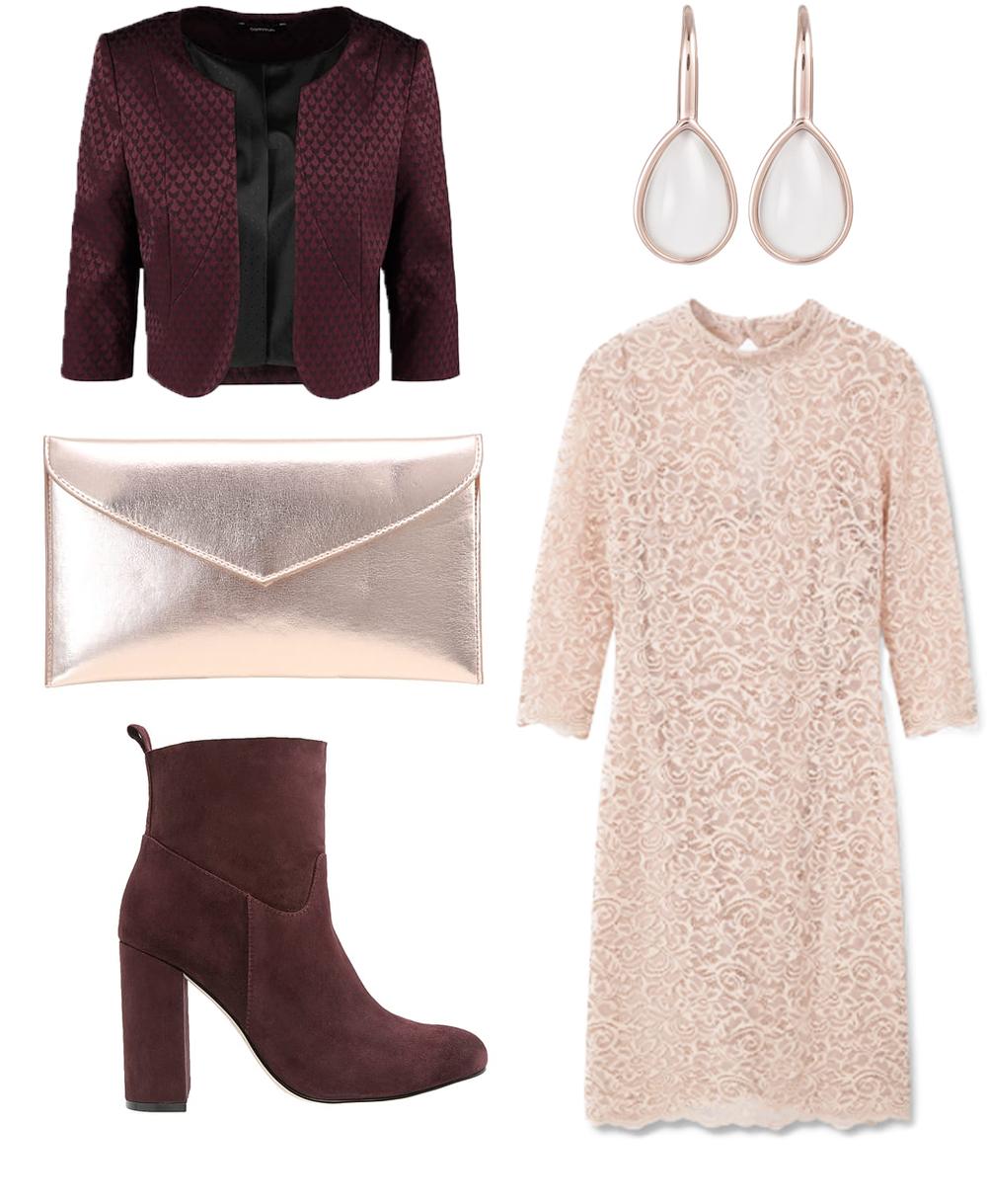 Outfit als Gast auf einer Hochzeit im Winter