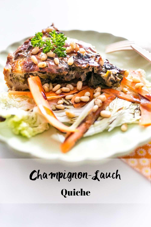 Champignon-Lauch-Quiche