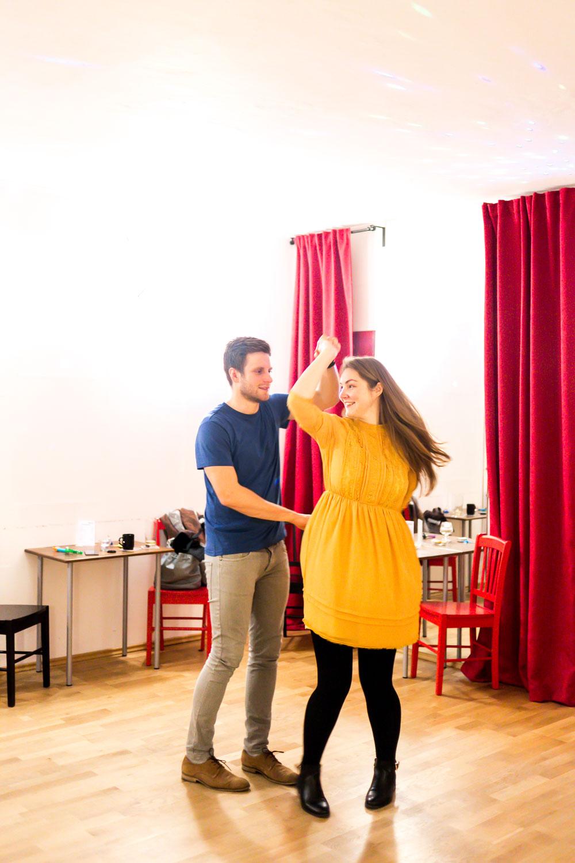Tanzschule Berlin Steglitz Tanzsalon Scharlachrot