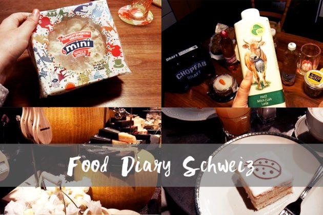 Food Diary Schweiz wir testen Schweizer Spezialitäten