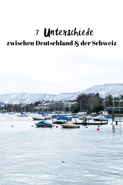 Unterschiede zwischen Deutschland und der Schweiz