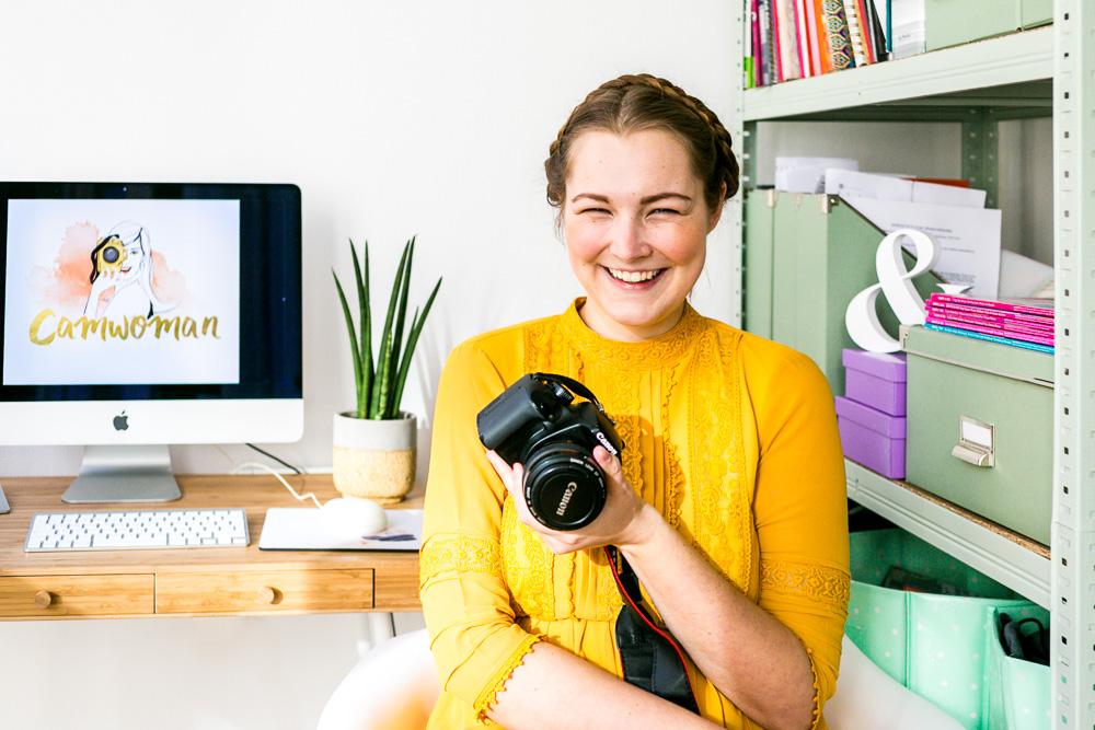 Camwoman Patricia Kaiser Fotografie Onlinekurs für Frauen