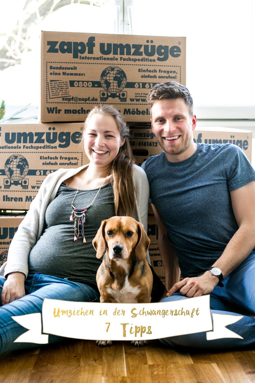 Umziehen in der Schwangerschaft
