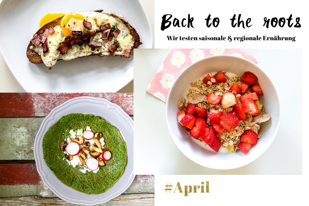 Saisonale Rezepte April