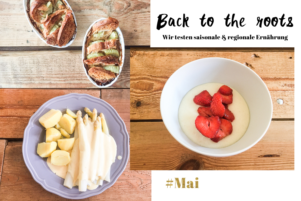 Regional und saisonal ernähren Mai