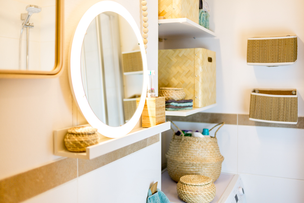 Stauraum für ein kleines Badezimmer – Wir zeigen euch unser neues ...