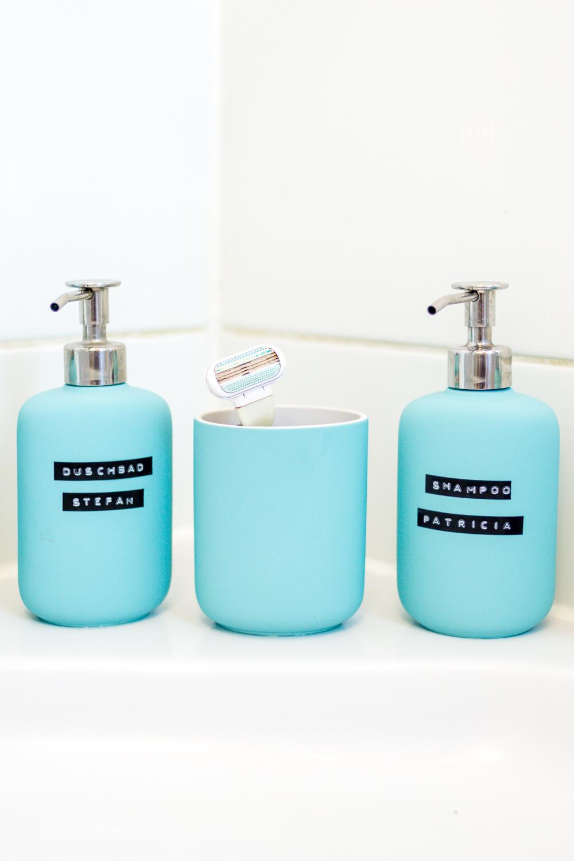 Stauraum für ein kleines Badezimmer – Wir zeigen euch unser neues ... | {Seifenspender holz ikea 59}