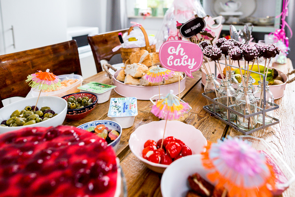 Tipps für eine Babyparty Babyshower Essen