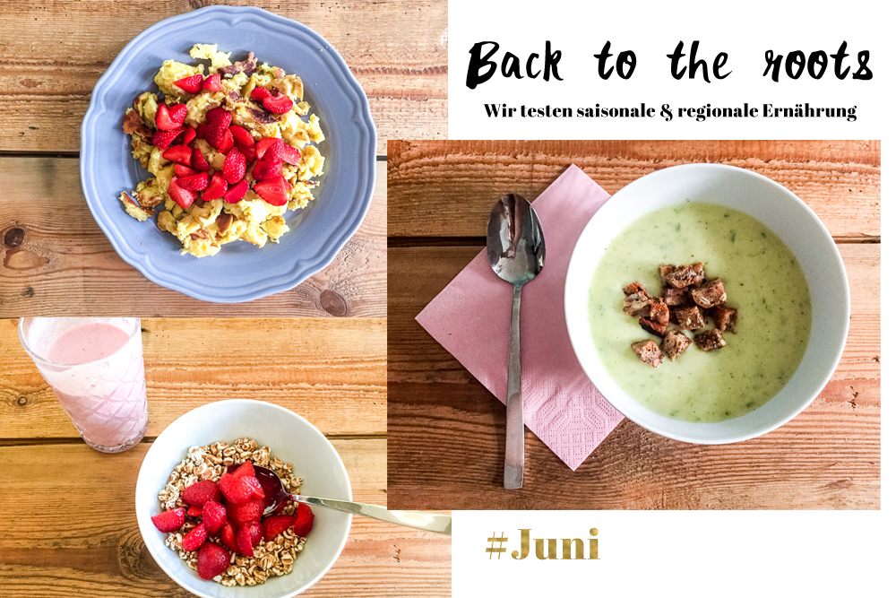 Saisonal ernähren im Juni