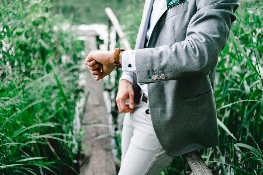 Männeroutfit zum Hochzeitstag