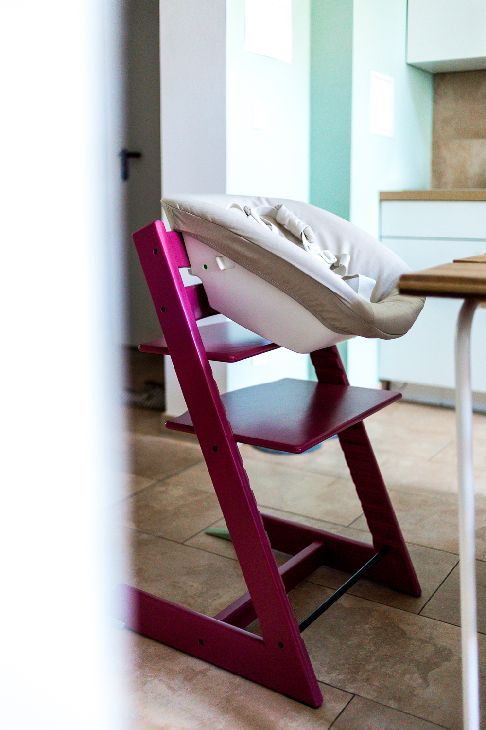Stokke Tripp Trapp Heather Pink Forrest Green