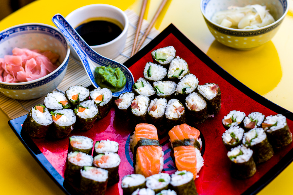 maki sushi selber machen die anleitung the kaisers. Black Bedroom Furniture Sets. Home Design Ideas